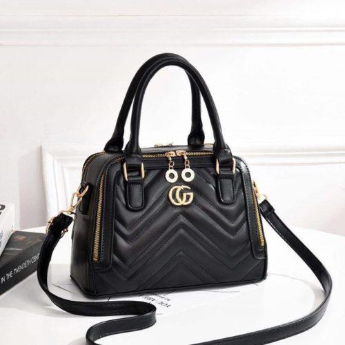 JT01111-black Tas Handbag Wanita Elegan Terbaru Import