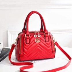 JT01111-red Tas Handbag Wanita Elegan Terbaru Import