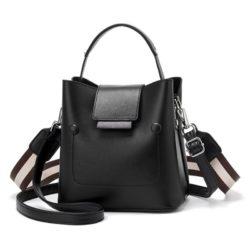 JT01419-black Tas Handbag Selempang Wanita Import 2 Talpan