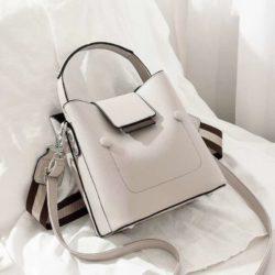 JT01419-gray Tas Handbag Selempang Wanita Import 2 Talpan