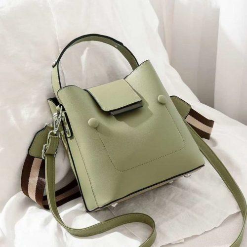JT01419-green Tas Handbag Selempang Wanita Import 2 Talpan