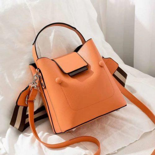 JT01419-orange Tas Handbag Selempang Wanita Import 2 Talpan