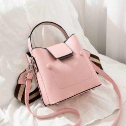 JT01419-pink Tas Handbag Selempang Wanita Import 2 Talpan