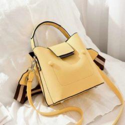 JT01419-yellow Tas Handbag Selempang Wanita Import 2 Talpan