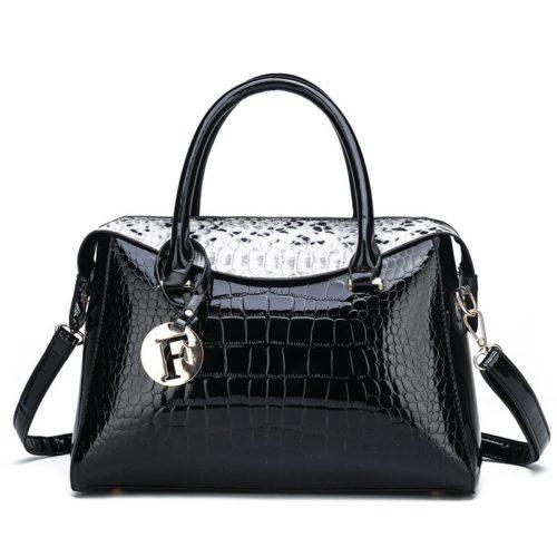 JT015612-black Tas Handbag Wanita Cantik Fashion Import Terbaru