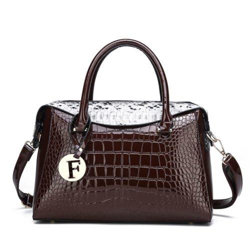JT015612-brown Tas Handbag Wanita Cantik Fashion Import Terbaru