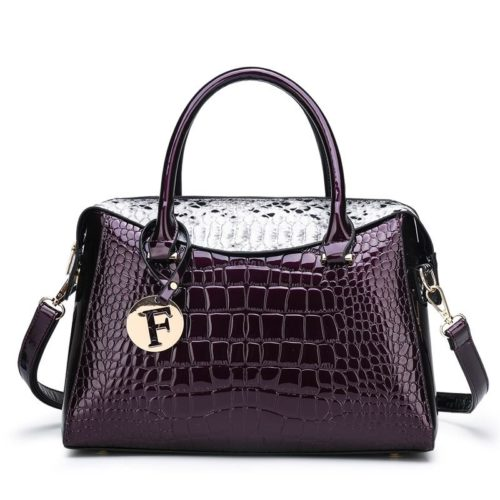 JT015612-purple Tas Handbag Wanita Cantik Fashion Import Terbaru