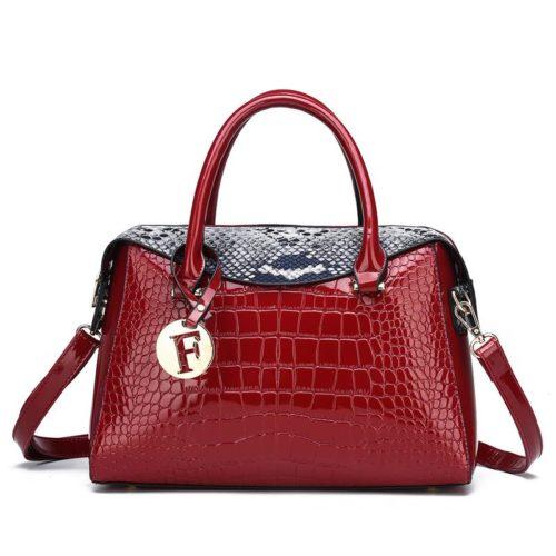 JT015612-red Tas Handbag Wanita Cantik Fashion Import Terbaru