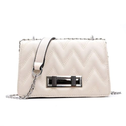JT0160-beige Tas Clutch Bag Wanita Elegan Tali Selempang