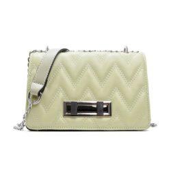 JT0160-green Tas Clutch Bag Wanita Elegan Tali Selempang