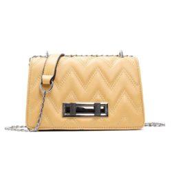 JT0160-yellow Tas Clutch Bag Wanita Elegan Tali Selempang