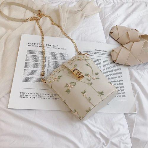 JT017-white Tas Slingbag Stylish Modis Import Terbaru