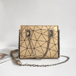 JT01747 MATERIAL PU SIZE L19XH16XW6CM WEIGHT 500GR COLOR GOLD