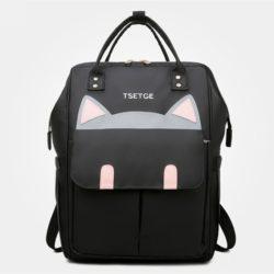 JT0180-black Tas Ransel Imut Lucu Wanita Cantik Import