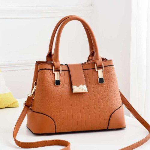 JT01913-brown Tas Selempang Wanita Cantik Import Terbaru