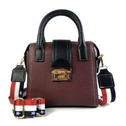 JT0228-wine Tas Selempang Fashion Wanita Cantik Import