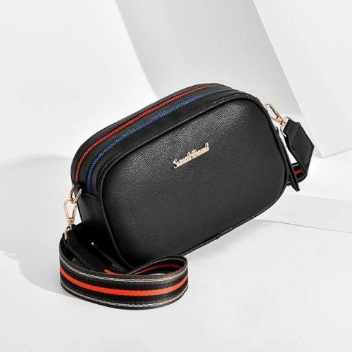 JT0230-black Tas Selempang Fashion Elegan Wanita