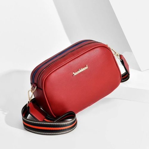 JT0230-red Tas Selempang Fashion Elegan Wanita