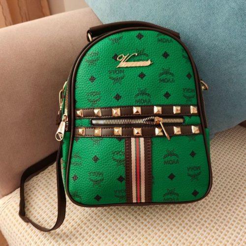 JT02348-green Tas Ransel Wanita Fashion Import Terbaru