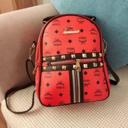 JT02348-red Tas Ransel Wanita Fashion Import Terbaru
