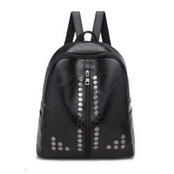 JT0317-black Tas Ransel Fashion Import Wanita Cantik