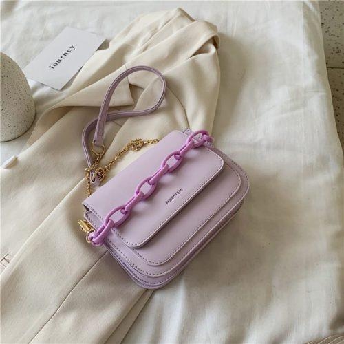 JT03246-purple Tas Selempang Import Wanita Elegan Terbaru