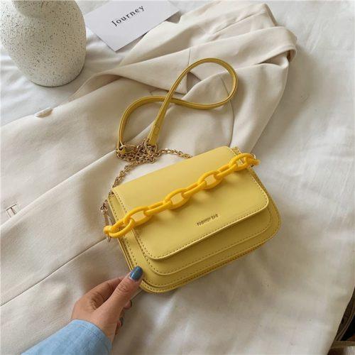 JT03246-yellow Tas Selempang Import Wanita Elegan Terbaru