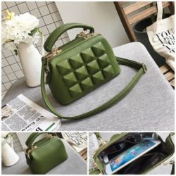 JT033 IDR.175.000 MATERIAL PU SIZE L23XH17XW12CM WEIGHT 750GR COLOR GREEN