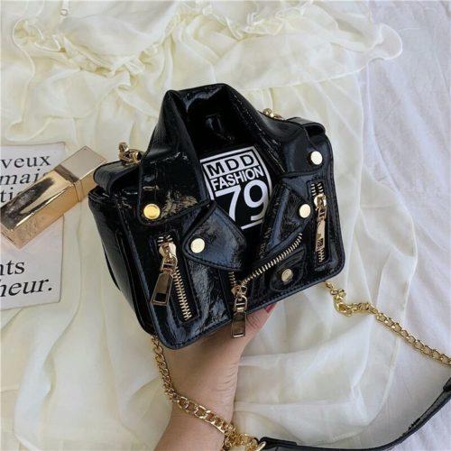 JT033508-black Tas Selempang Wanita Stylish Kekininian Import