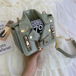 JT033508-green Tas Selempang Wanita Stylish Kekininian Import