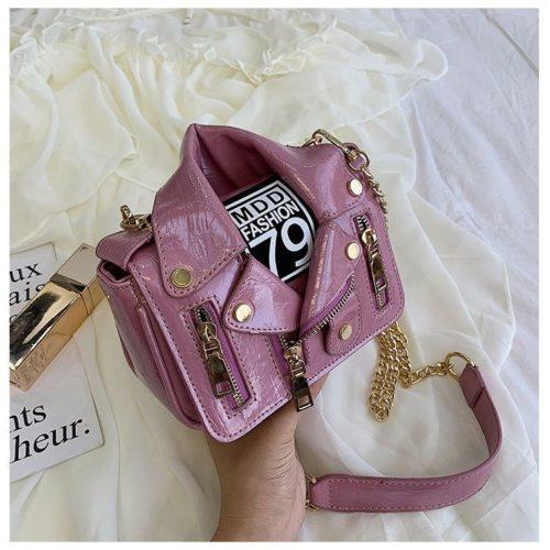 JT033508-purple Tas Selempang Wanita Stylish Kekininian Import