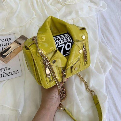 JT033508-yellow Tas Selempang Wanita Stylish Kekininian Import