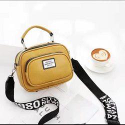 JT0400-yellow Tas Selempang Wanita Kekinian Import