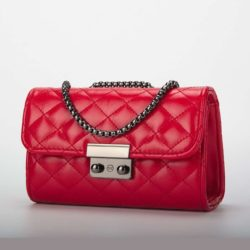 JT0401-red Tas Selempang Clutch Import Wanita Cantik