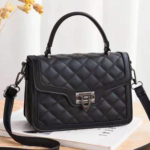 JT0408-black Tas Selempang Fashion Wanita Cantik Import
