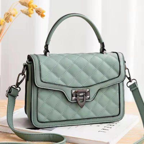 JT0408-green Tas Selempang Fashion Wanita Cantik Import