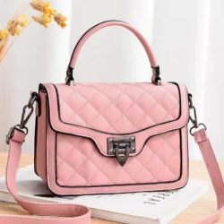 JT0408-pink Tas Selempang Fashion Wanita Cantik Import