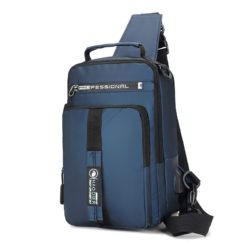 JT0585-blue Tas Sling Bag NEW Normal Style (Bisa Jadi Ransel)
