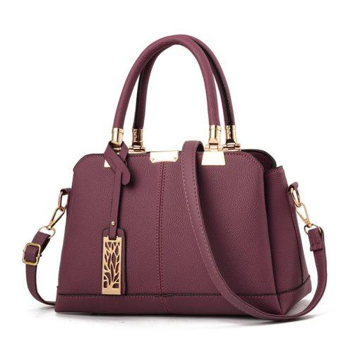 JT0616-purple Tas Selempang Wanita Elegan