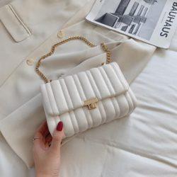 JT06247-beige Tas Clutch Selempang Import Wanita Cantik