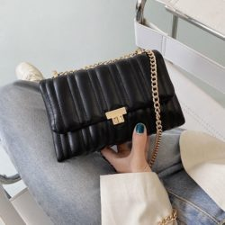 JT06247-black Tas Clutch Selempang Import Wanita Cantik