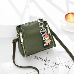 JT062B-green Tas Selempang Gantugan LOVE Fashion Import
