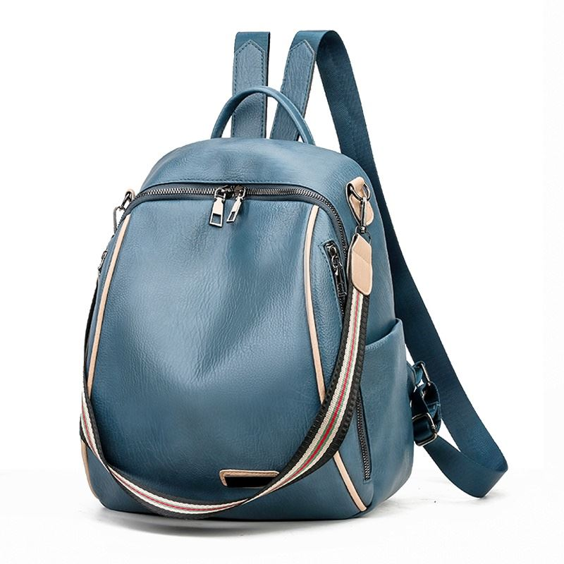 JT0651 IDR.148.000 MATERIAL PU SIZE L27XH32XW15CM WEIGHT 550GR COLOR BLUE