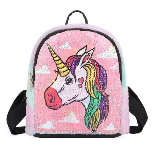 JT0660-a Tas Ransel Anak Unicorn Lucu Import