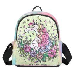 JT0660-c Tas Ransel Anak Unicorn Lucu Import