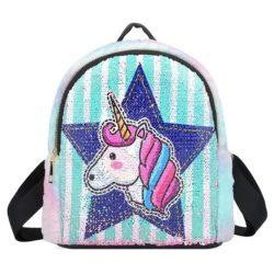 JT0660-d Tas Ransel Anak Unicorn Lucu Import