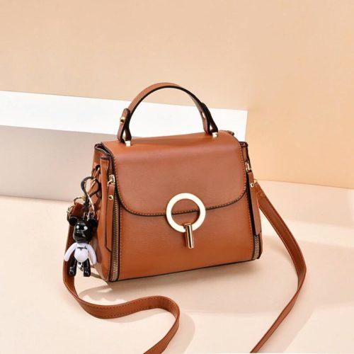 JT0661-brown Tas Selempang Fashion Import Terbaru Wanita
