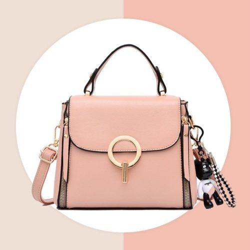 JT0661-pink Tas Selempang Fashion Import Terbaru Wanita