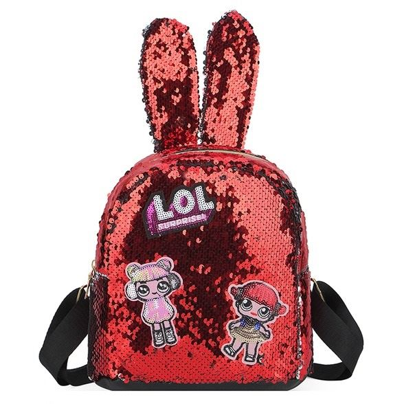 JT0666 IDR.142.000 MATERIAL SEQUIN SIZE L20XH21.5XW10CM WEIGHT 250GR COLOR RED