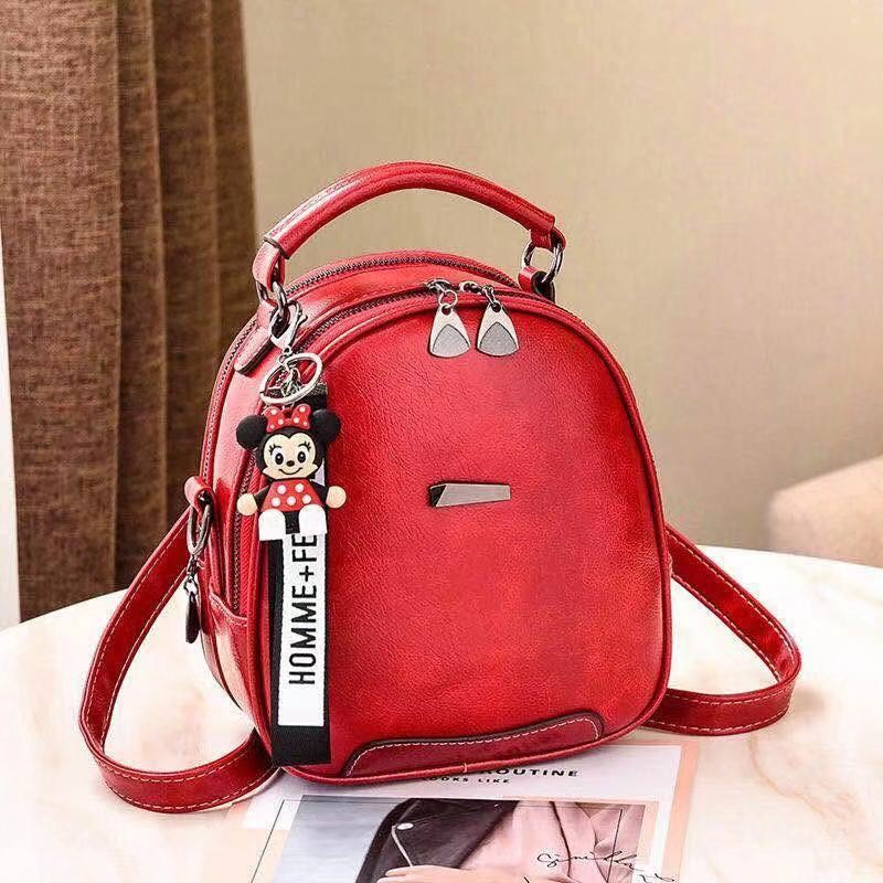 JT07002 IDR.162.000 MATERIAL PU SIZE L20XH22XW10CM WEIGHT 700GR COLOR RED